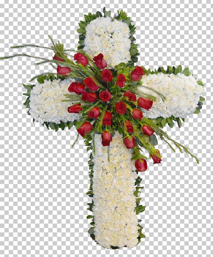 Floral Design Christmas Ornament Cut Flowers Flower Bouquet PNG, Clipart, Centrepiece, Christmas, Christmas Decoration, Christmas Ornament, Cross Free PNG Download