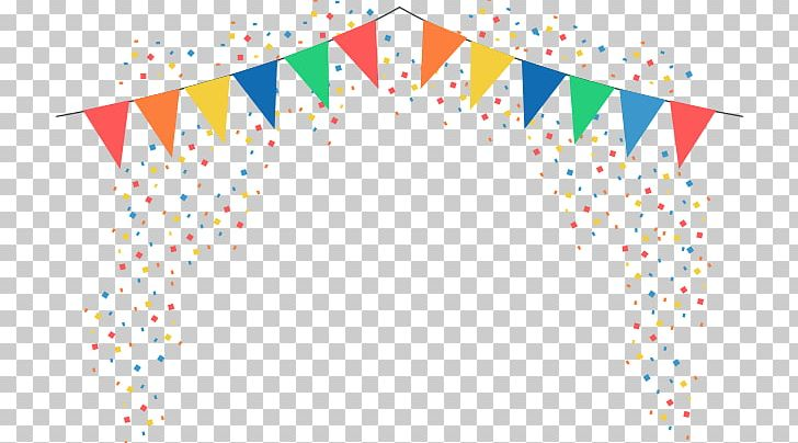 Flag party. Confetti stock photography bunting