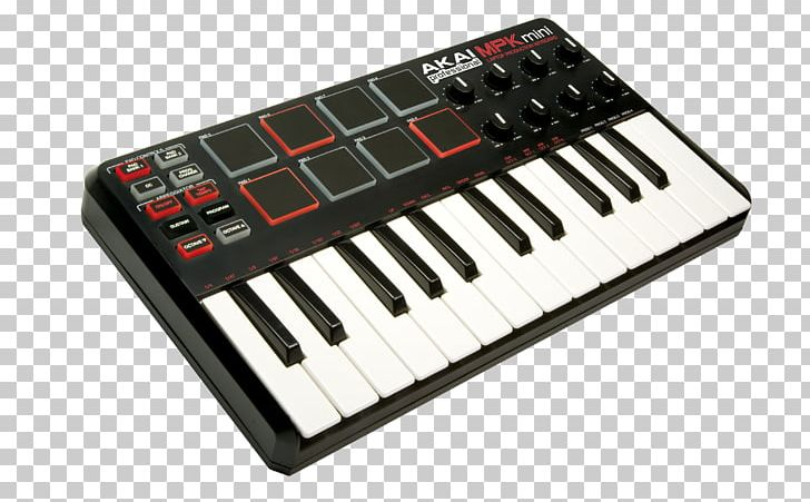 Computer Keyboard Akai Laptop MIDI Controllers PNG, Clipart