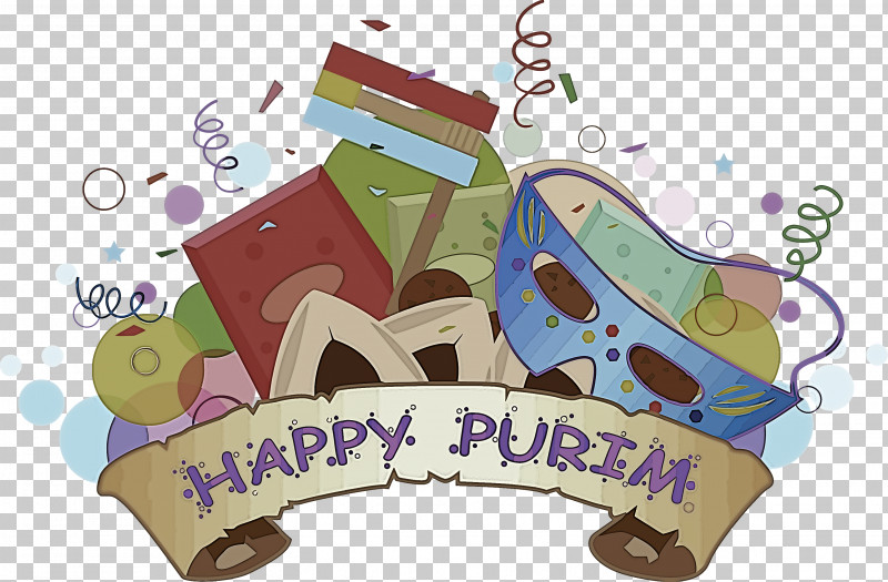 Purim Jewish Holiday PNG, Clipart, Cartoon, Holiday, Jewish, Purim Free PNG Download