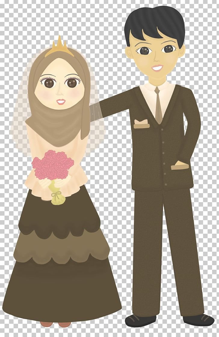 Doodle Wedding Drawing Muslim Png Clipart Boy Cartoon