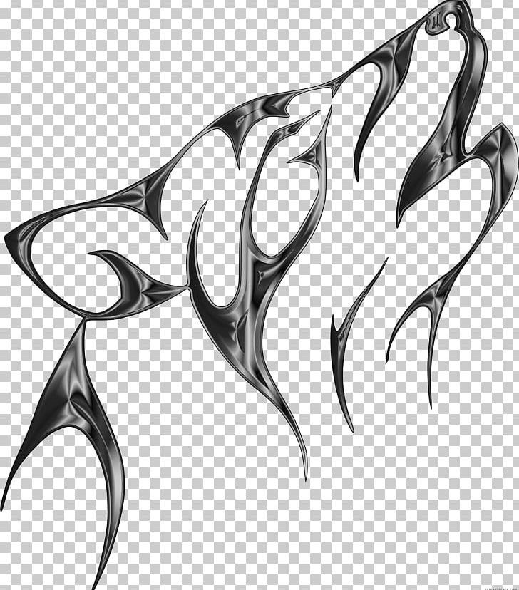 Gray Wolf Tattoo Art Design Drawing Png Clipart Art Black And