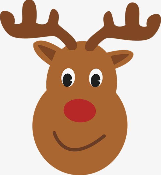 Deer head cute PNG Picture.
