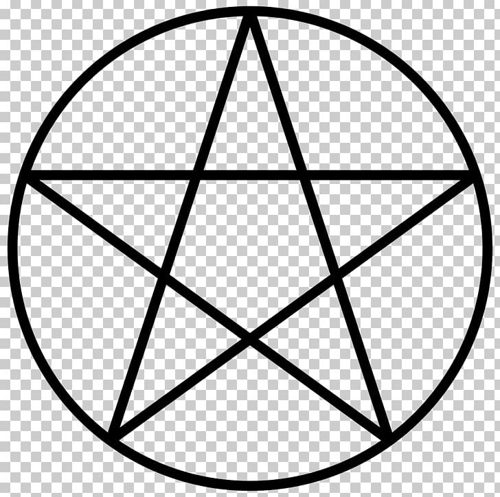 Pentagram Pentacle Symbol Wicca PNG, Clipart, Angle, Area, Black And White, Circle, Classical Element Free PNG Download