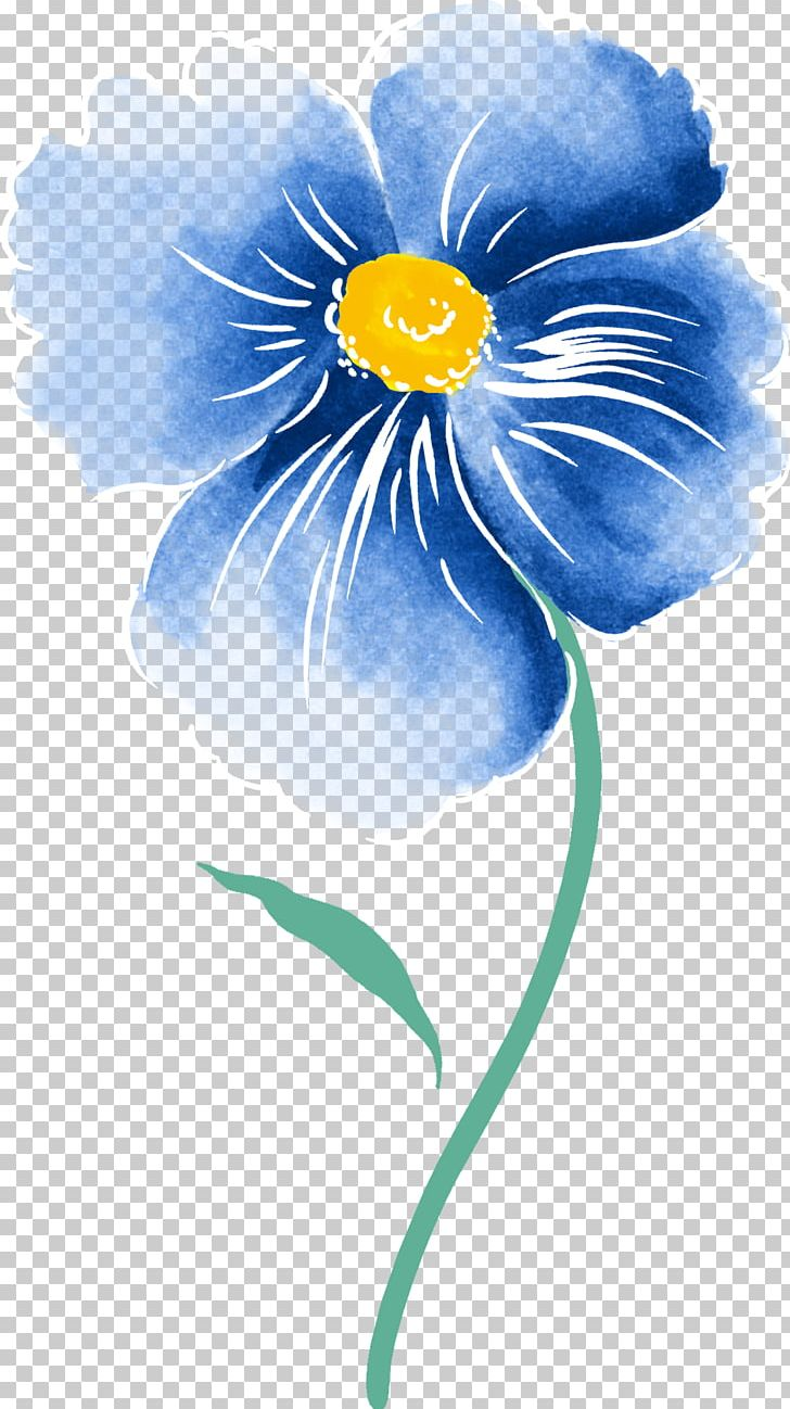Watercolour Flowers Watercolor Painting Drawing PNG, Clipart, Art, Blue, Color, Computer Wallpaper, Drawing Free PNG Download