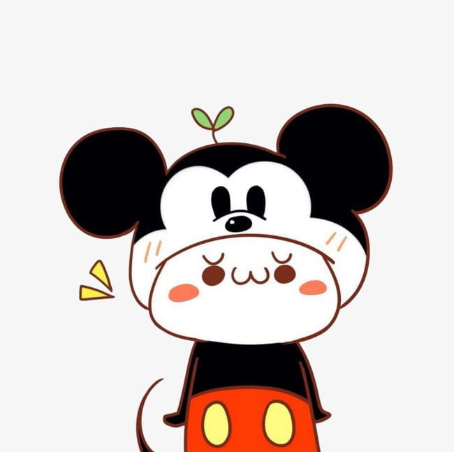 Mickey mouse cute. Hat s doll png
