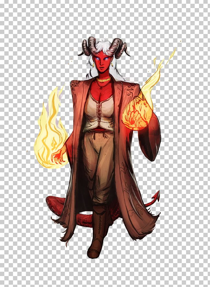 Dungeons & Dragons Warlock Tiefling Neverwinter Sorcerer PNG