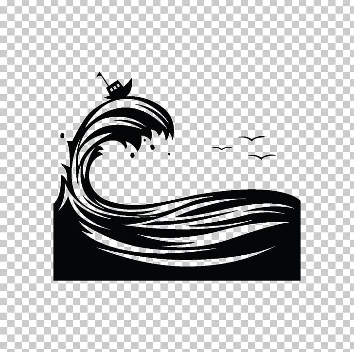 Silhouette Wind Wave Graphic Design PNG, Clipart, Animals, Black, Black And White, Brand, Computer Wallpaper Free PNG Download
