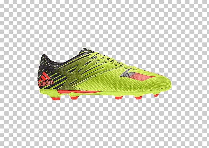 f4315bd60e5 Football Boot Adidas Children Boys Messi 15.3 Firm Artificial Boots Size  12.5 In Blue Cleat Shoe ...