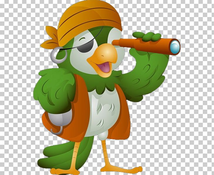 Pirate Parrot Piracy PNG, Clipart, Animals, Art, Beak, Bird, Cartoon Free PNG Download