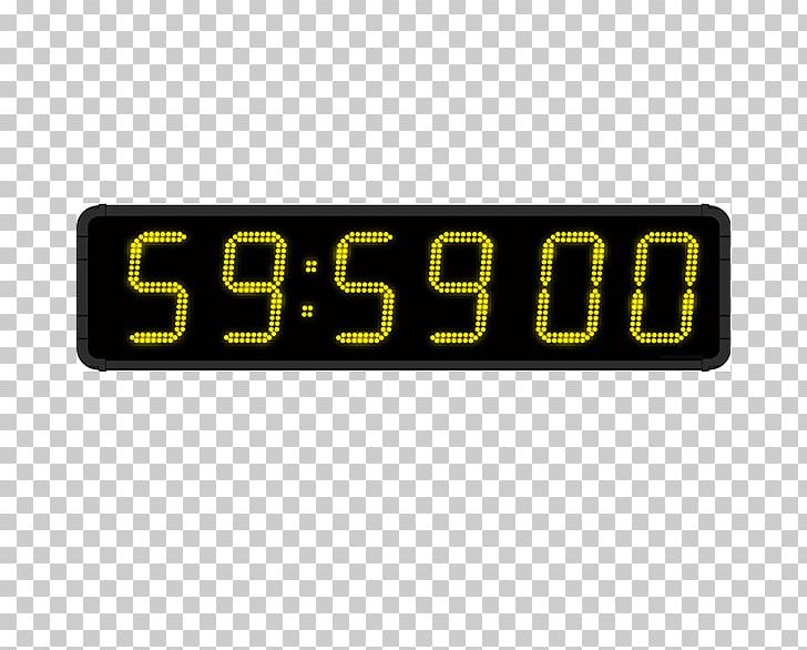 Digital Clock Display Device Timer Liquid-crystal Display