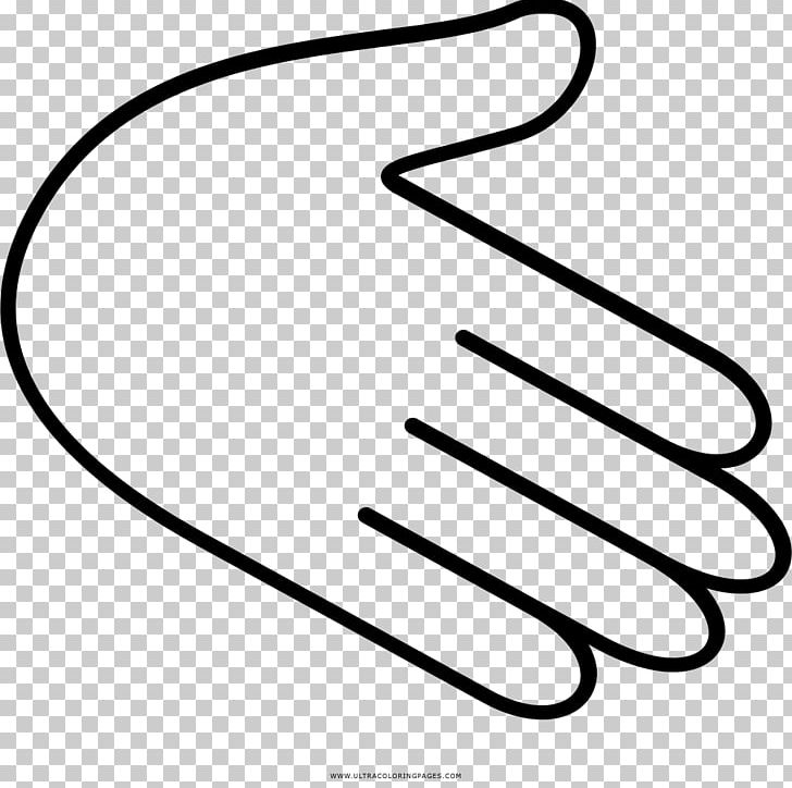 Coloring Book Drawing Hand Thumb Png Clipart Area Arm