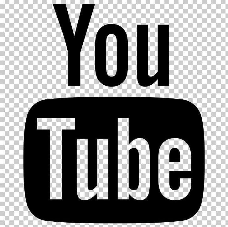 YouTube Computer Icons Font Awesome Logo PNG, Clipart, Area, Black And White, Brand, Computer Icons, Download Free PNG Download