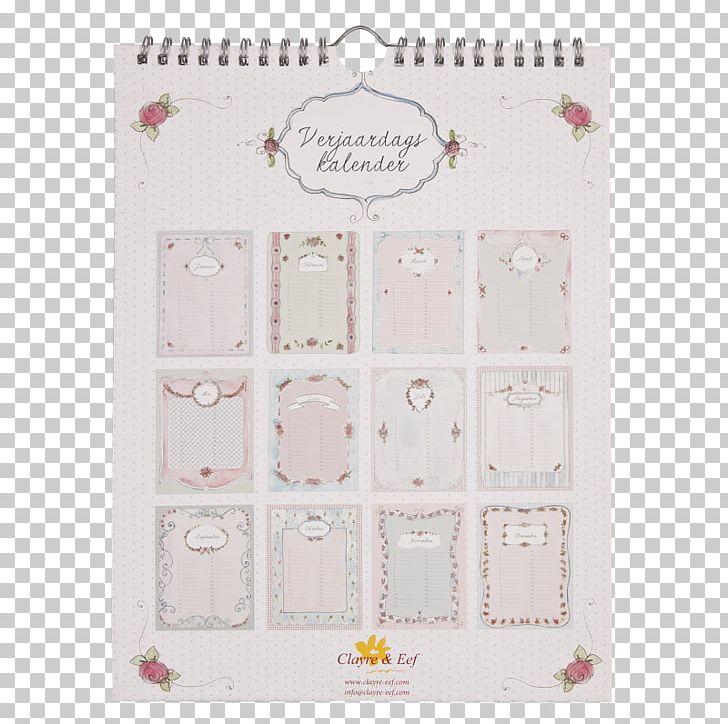Verjaardag Kalender.Paper Verjaardagskalender Text Calendar Pattern Png Clipart