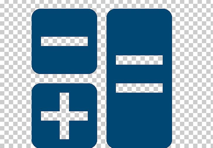 Calculation Number Mathematics Computer Icons Plus And Minus Signs PNG, Clipart, Area, Blue, Brand, Calc, Calculation Free PNG Download