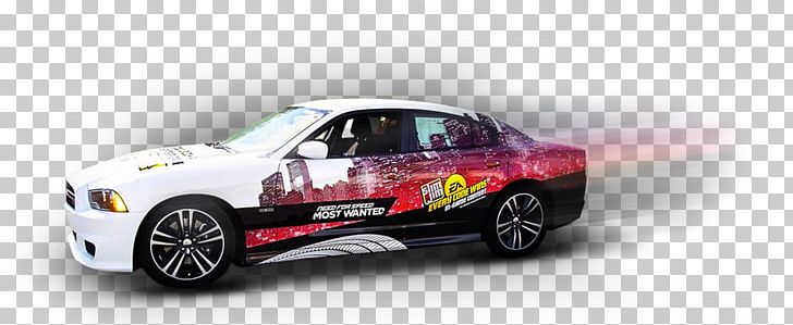 Sports Car Wrap Advertising Full-size Car PNG, Clipart
