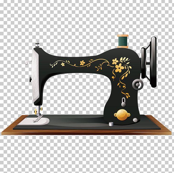 Sewing Machine Drawing