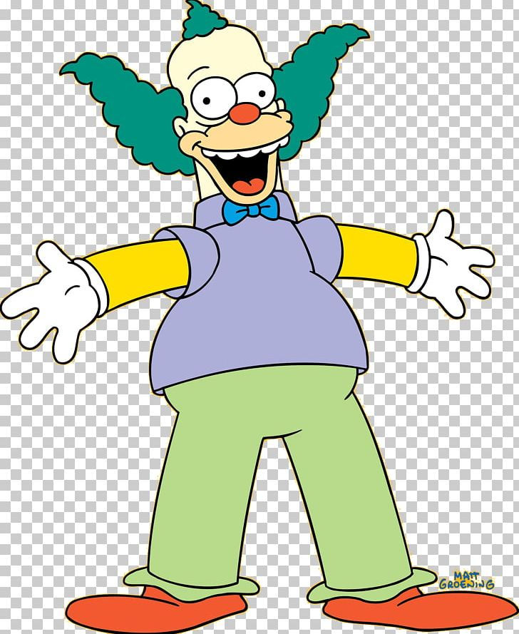 Krusty The Clown Bart Simpson Lisa Simpson Grampa Simpson Sideshow