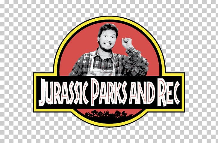 Andy Dwyer Jurassic Park Logo Pun T-shirt PNG, Clipart, Andy Dwyer, Brand, Chris Pratt, Humour, Joke Free PNG Download