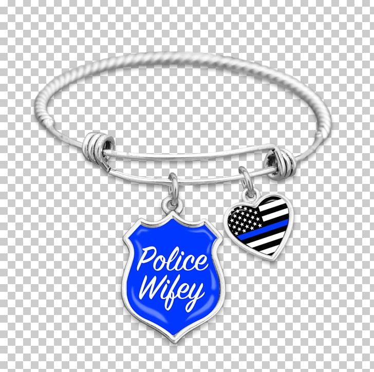 Charm Bracelet Thin Blue Line Police