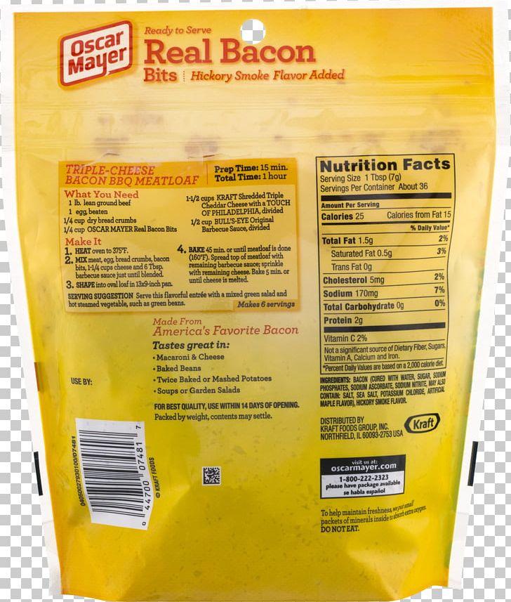 Bacon Bits Oscar Mayer Salad Bar PNG