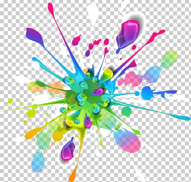 Splash Color Paint PNG, Clipart, Blue, Bright, Brush, Color Splash, Effect Free PNG Download