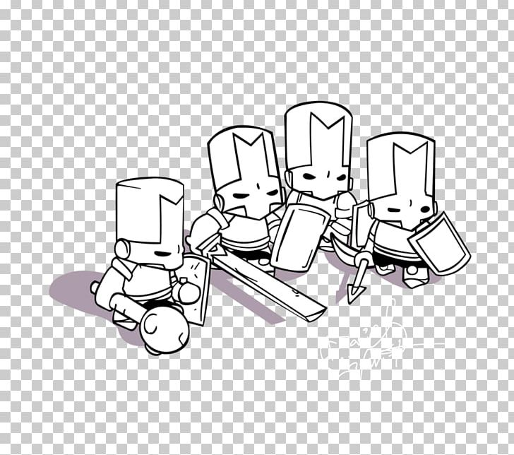 Castle Crashers Colouring Pages Coloring Book Drawing Png
