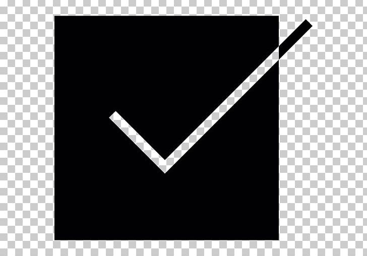 Check Mark Checkbox Computer Icons PNG, Clipart, Angle, Black, Black And White, Brand, Checkbox Free PNG Download