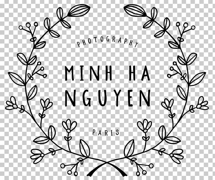 Floral Design Logo Art Photography PNG, Clipart, Art, Black, Black And White, Branch, Calligraphy Free PNG Download