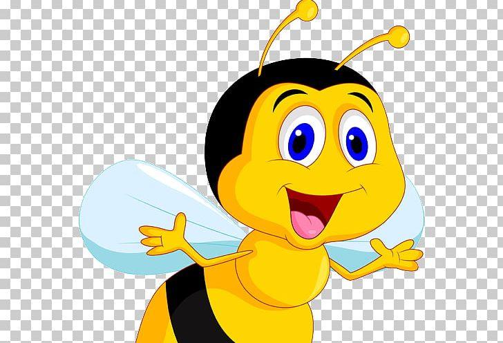 Bee Cartoon PNG, Clipart, Animation, Art, Beak, Bee, Bumblebee Free PNG Download