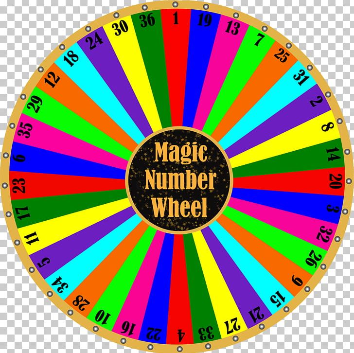Number Big Six Wheel Lottery Spinning Wheel PNG, Clipart