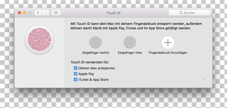 app store download mit fingerabdruck