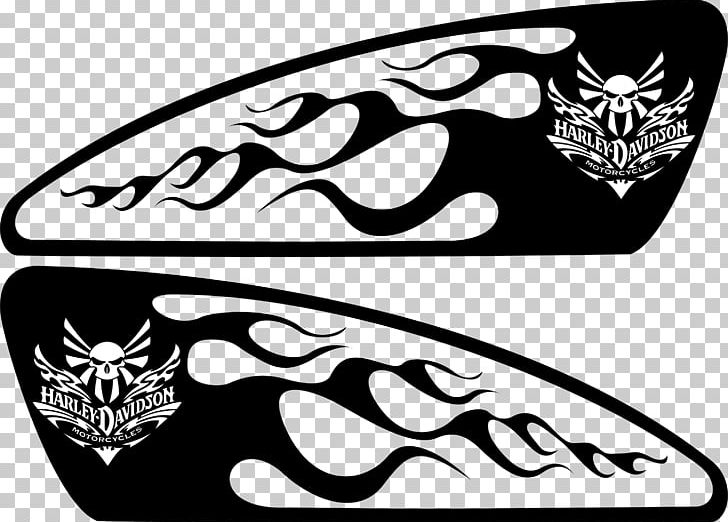 Motorcycle Fuel Tank Harley-Davidson Decal Stencil PNG, Clipart