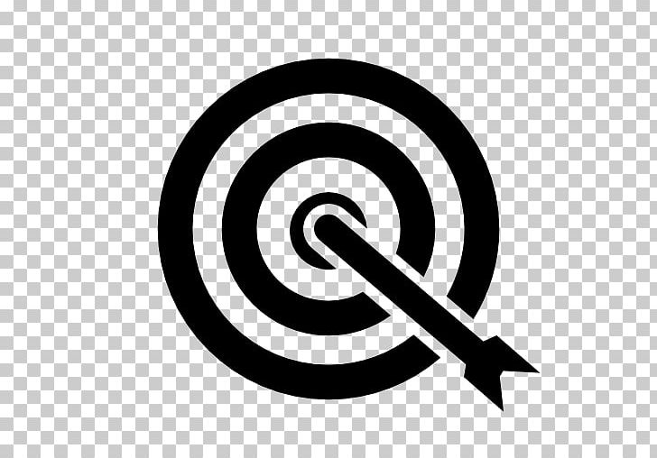 Shooting Target Bullseye Arrow PNG, Clipart, Area, Arrow, Audience, Black And White, Brand Free PNG Download