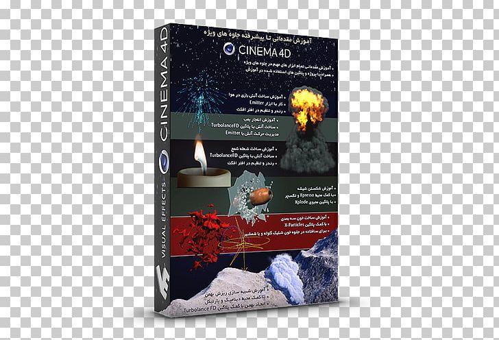 Cinema 4D Thinking Particles Special Effects Visual Effects