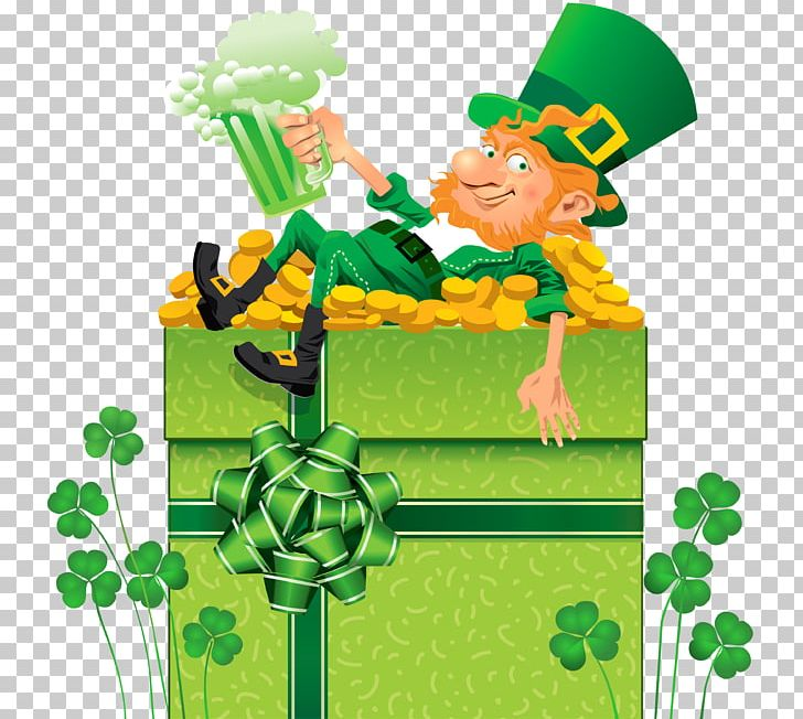 Ireland Saint Patricks Day March 17 PNG, Clipart, Art, Fictional Character, Flower, Flowering Plant, Grass Free PNG Download