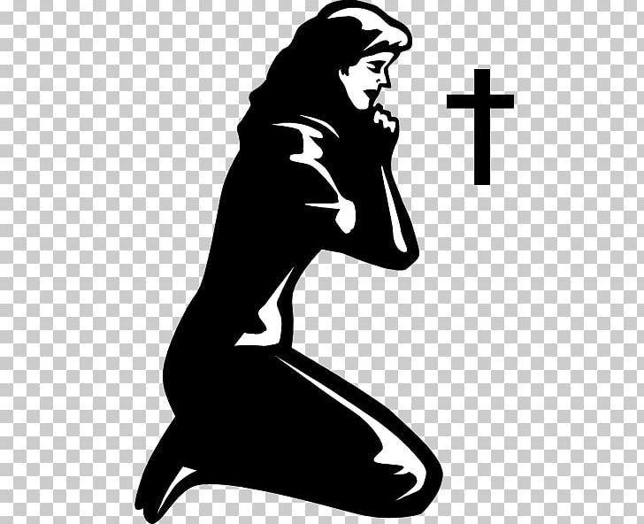 Praying Hands Prayer Woman PNG, Clipart, Art, Artwork, Black, Black And White, Child Free PNG Download