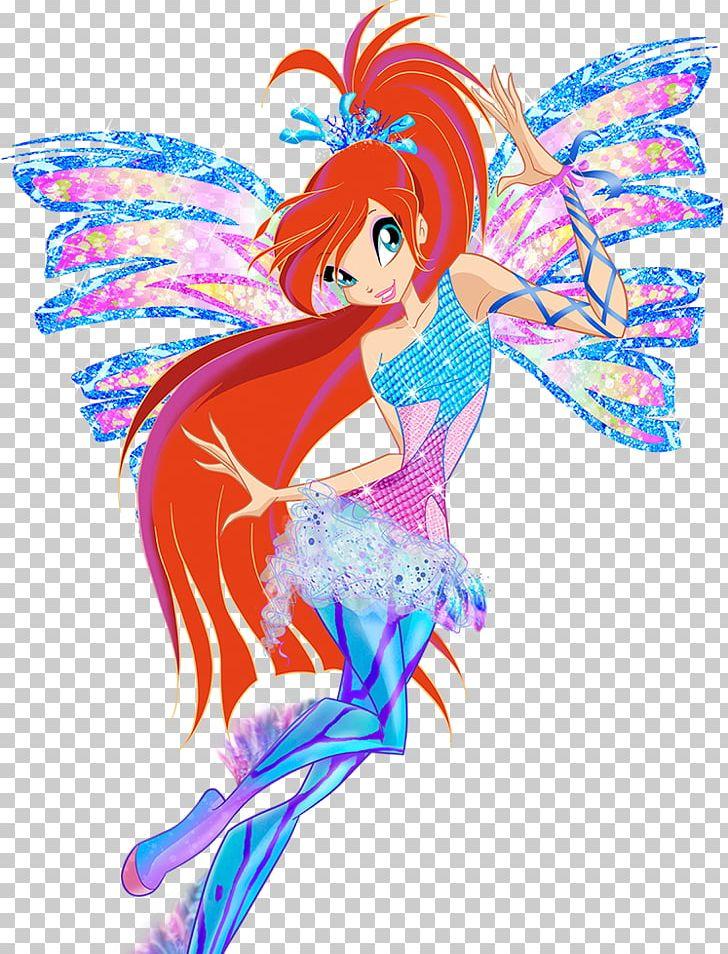 Bloom Fairy Sirenix Winx Club Png Clipart Art Bloom