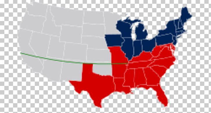 Missouri Compromise Parallel 36°30′ North American Civil War Mason ...