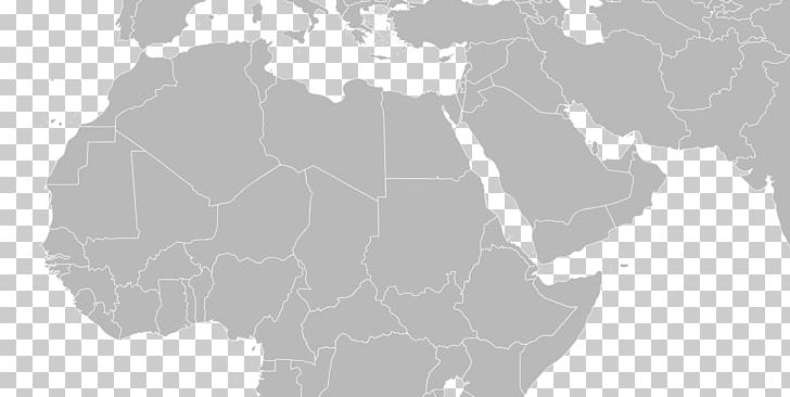 Middle East North Africa Blank Map World Map PNG, Clipart, Aluskaart ...