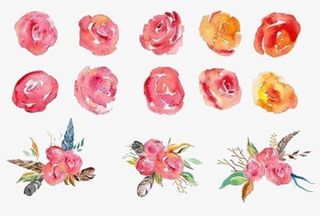 Watercolor Flowers PNG, Clipart, Bouquet, Flowers, Flowers Clipart, Pink, Watercolor Free PNG Download
