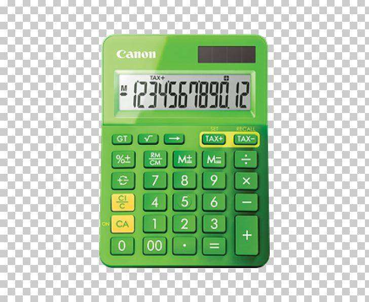 Canon LS-123K Calculator Office Supplies Electric Battery PNG, Clipart, Calculator, Canon, Cash Register, Computer, Desk Free PNG Download
