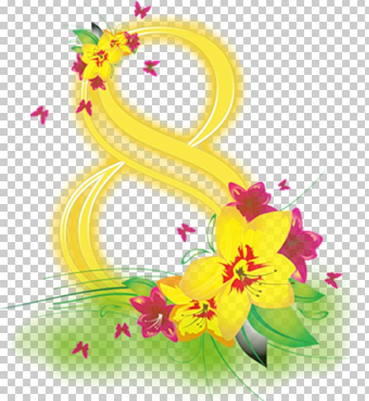 International Women's Day March 8 Woman Desktop PNG, Clipart, Art, Computer Wallpaper, Cut Flowers, Digital Image, Flora Free PNG Download
