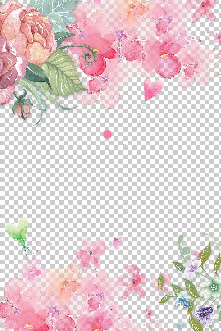 Pink Flowers Paper Pink Flowers Rose PNG, Clipart, Background, Branch, Cartoon, Color, Computer Wallpaper Free PNG Download