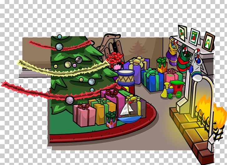 Club Penguin Game Christmas Party PNG