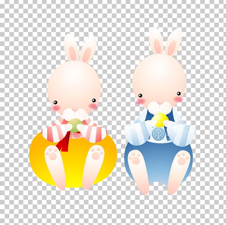 Easter Bunny Rabbit Cartoon Animation Illustration PNG, Clipart, Animals, Animation, Anime, Anime Girl, Art Free PNG Download