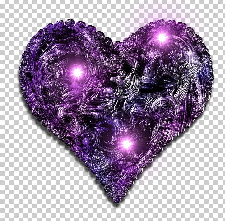 Картинки фиолетовое сердце