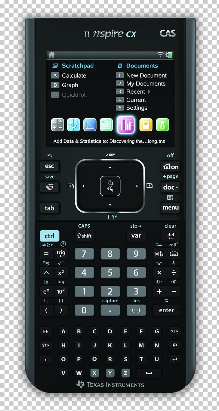 TI-Nspire Series Graphing Calculator Computer Algebra System Texas Instruments TI-Nspire CX CAS PNG, Clipart, Calculator, Color, Computer, Electronic Device, Electronics Free PNG Download