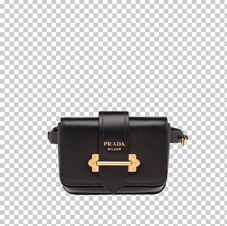 Prada Cahier Leather Bag Women Handbag Prada Bevelled Belt
