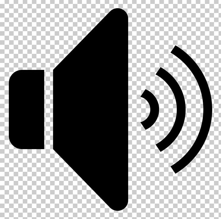 Loudspeaker Computer Icons Sound Icon PNG, Clipart, Audio Signal, Black, Black And White, Brand, Call Free PNG Download